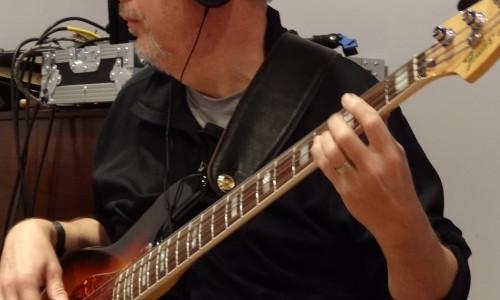 Rolfe Hokanson in the studio